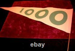 1 Left! GRINCH Jim Carrey Prop WHO FLAG & MAIL, SIGNED PP Pic, Blu DVD, UACC COA