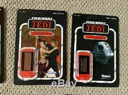 11 Star Wars Custom Kenner Cardbacks Death Star II + Screen-Used Props + More