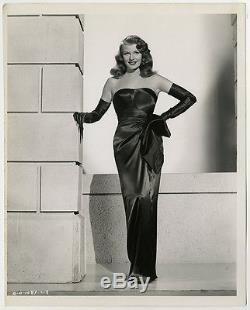1946 Iconic Rita Hayworth Film Noir Vixen Robert Coburn Vintage Gilda Photograph