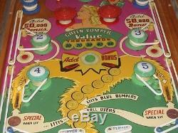 1949 Gottlieb Buttons & Bows Nicest all original pin Pinball Girl has ever seen