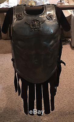 1959 Ben Hur Julius Quo Vadis Caesar prop Roman brass decorated armor epic film
