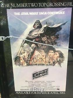 1982 Star Wars Episode VI Revenge of the Jedi original Lucas Poster