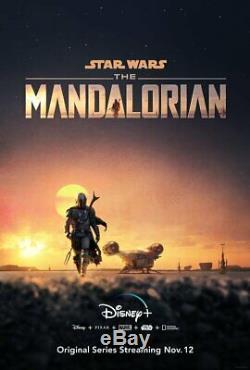 2 Star Wars The Rise of Skywalker 27x40 D/S with bonus Mandalorian 18x27 poster