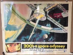 2001 a space odyssey Movie Poster Stanley Kubrick original 1968 22x28