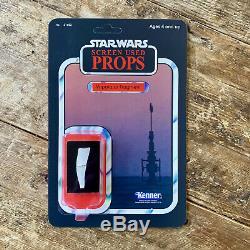 3 x Star Wars Screen-Used Props on Custom Cardbacks