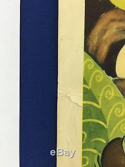 ALICE IN WONDERLAND Original Insert Movie Poster 1951 Walt Disney Lewis Carroll