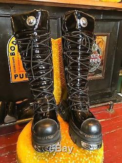 Adam Lambert's Rocky Horror Picture Show Custom-Made New Rock Wardrobe Boots