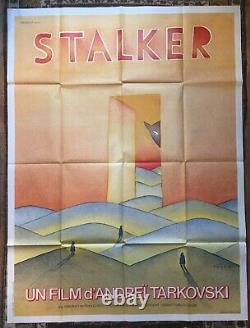 Affiche Stalker Tarkovsky / Folon Rare Original Large French Movie Poster