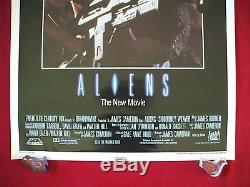 Aliens 1986 Original Movie Poster English Int'l One Sheet Rare Rolled Halloween