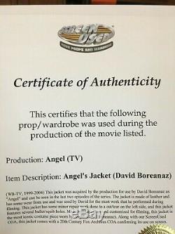 Angel Season 5 Screen Worn Used Coat with COA Stunt Jacket David Boreanaz Buffy