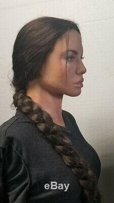 Angelina Jolie Lara Croft Lifesize Silicone Bust Tomb Raider 11
