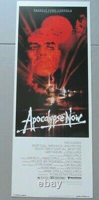 Apocalypse Now Original Rolled Insert 14x36 Movie Poster 1979 Marlon Brando War