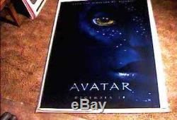 Avatar Lenticular 27x40 Orig Movie Poster James Cameron Absolutely Gorgeous