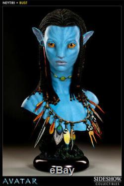 Avatar Neytiri Sideshow Life Size 11 bust Sideshow prop RARE