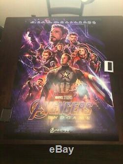 Avengers Endgame 27x40 Original D/S Movie Poster Final US Promo Rare NEW