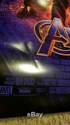 Avengers Endgame Original DS Movie Poster, 27 x 40 D/S, Near Mint