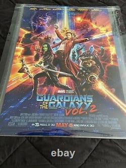 Avengers Infinity War Endgame Guardians Of The Galaxy 27x40 DS Poster Lot