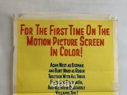 BATMAN Australian Daybill Movie Poster cult 60s DC superhero TV show