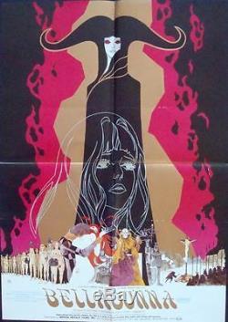 BELLADONNA OF SADNESS Japanese B2 movie posters x 2 export styles YAMAMOTO
