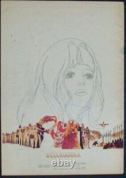 BELLADONNA OF SADNESS Japanese movie program EIICHI YAMAMOTO NAKADAI 20 pages 73