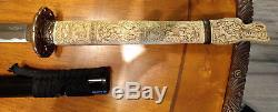 BEST AND LAST ONE Duncan MacLeod Highlander Sword by Marto ONLY USED FOR DISPLAY