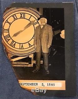 Back To The Future Authentic Doc Brown Burnt Clock Tower Photo With COA