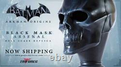 Batman Arkham Origins Black Mask Arsenal Full Scale Replica by TriForce NIB
