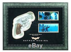 Batman Begins Bruce Wayne's (Christian Bale) Pistol Display