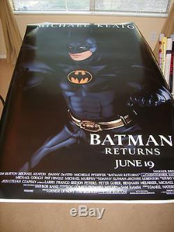 Batman Returns Catwoman Us Original Bus Stop 48 X 70 Movie Poster Set Of 3 (p)