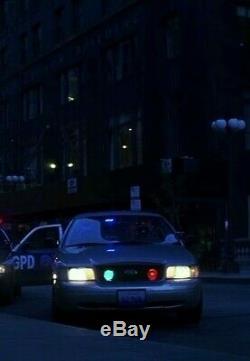 Batman The Dark Knight Original Prop Screen Used Gordons License Plate case RARE
