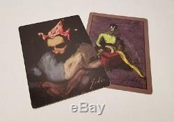 Batman the dark knight joker cards prop with COA