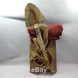 Ben-Hur authentic screen used prop war backpack set piece bag COA