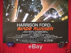 Blade Runner 1982 Original Movie Poster One Sheet Rolled First Nss Run Issue