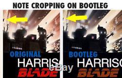 Blade Runner Original Movie Poster 1982 Rare Insert Not The Bootleg