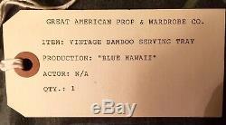 Blue Hawaii movie prop. Elvis Presley