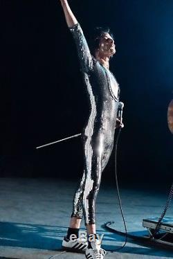 Bohemian Rhapsody Queen Rami Malek Sequin Catsuit Movie Costume Freddie Mercury