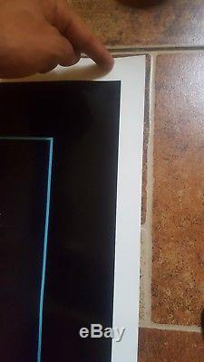 C9! RETURN OF THE JEDI ORIGINAL STAR WARS 1983 27x41 MOVIE POSTER BLUE HARVEST