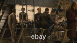 CHRIS EVANS Avengers MATCHLESS CAPTAIN AMERICA Leather Jacket 36 Worn In Promos