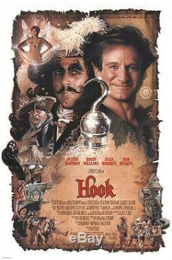 Captain Hook Dustin Hoffman hero screen used movie costume