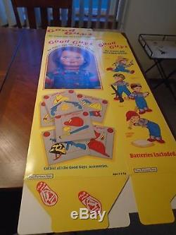 Child's Play Chucky Doll Box Original Movie PROP