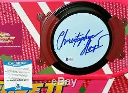 Christopher Lloyd Back To The Future 2 Doc signed Hoverboard BAS Beckett PSA