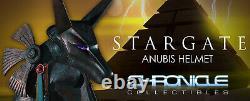 Chronicle Collectibles 11 Stargate Anubis Helmet Fiberglass Limited #10/50 New
