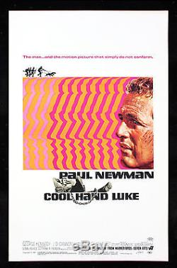 Cool Hand Luke Window Card Movie Poster Original Paul Newman Nm-m C9-c10 1967