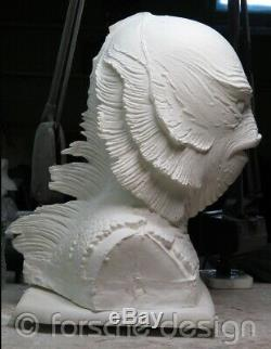 Creature from the Black Lagoon Life-size 11 Urethane Bust from Original Molds