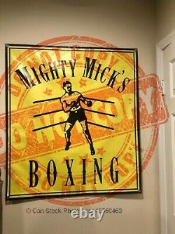 Creed Sylvester Stallone Rocky Balboa Screen Used Prop Banner Mighty Mick Rambo