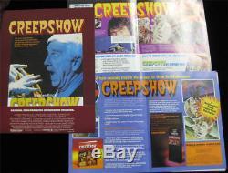 Creepshow RARE ORIGINAL Exhibitor Press Kit with 3D Pop-Up Promo TPB Graphic Novel