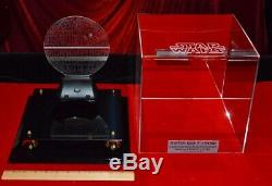 DEATH STAR Screen-Used Prop STAR WARS IV, COA London Prop Store, DVD, Lit CASE