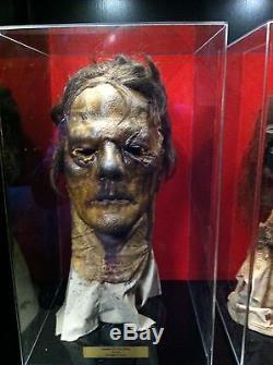Dawn of the Dead Latex Zombie Cowl w Propstore COA