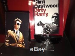 Dirty Harry Clint Eastwood Movie Worn Sunglasses! Real Prop From The Film