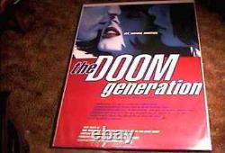 Doom Generation 2s Rolled 27x40 Orig Movie Poster Gregg Araki 1995 Rose Mcgowan